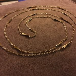 Ralph Lauren gold chain necklace